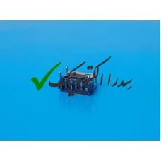 کانکتور USB 2.0 نوع A روبردی ماده رایت کوتاه پایه SMD