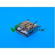 کانکتور USB 2.0 نوع A روبردی ماده صاف