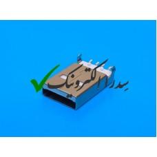 کانکتور USB 2.0 نوع A روبردی نر رایت SMD