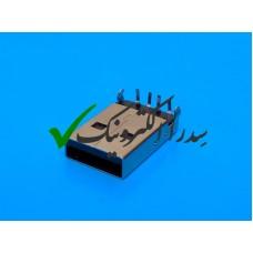 کانکتور USB 2.0 نوع A روبردی نر رایت