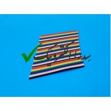 کابل فلت رنگی 50 رشته 2.54 میلی متر